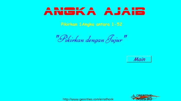 Angka Ajaib Scren Shot
